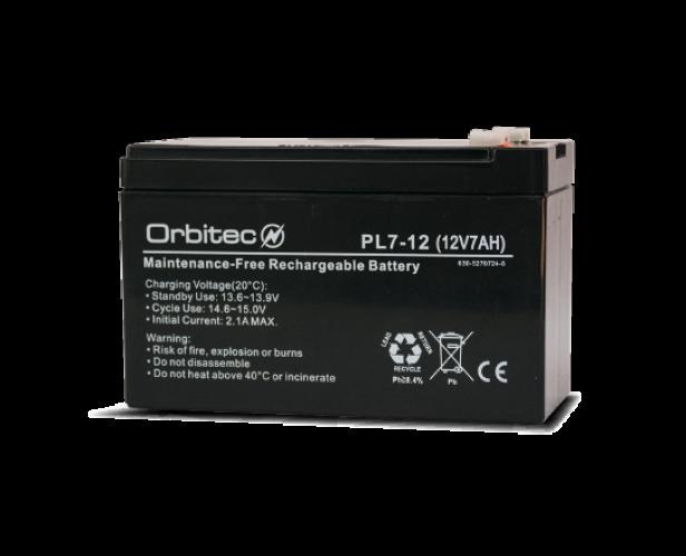 Baterías Orbitec Mod. PL7-12
