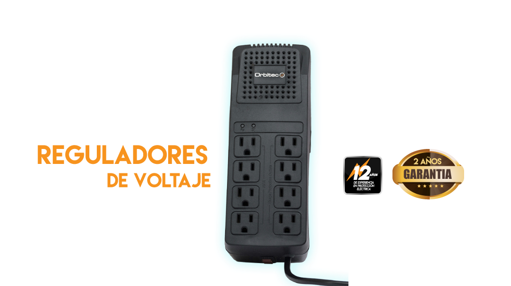 Reguladores de voltaje Orbitec
